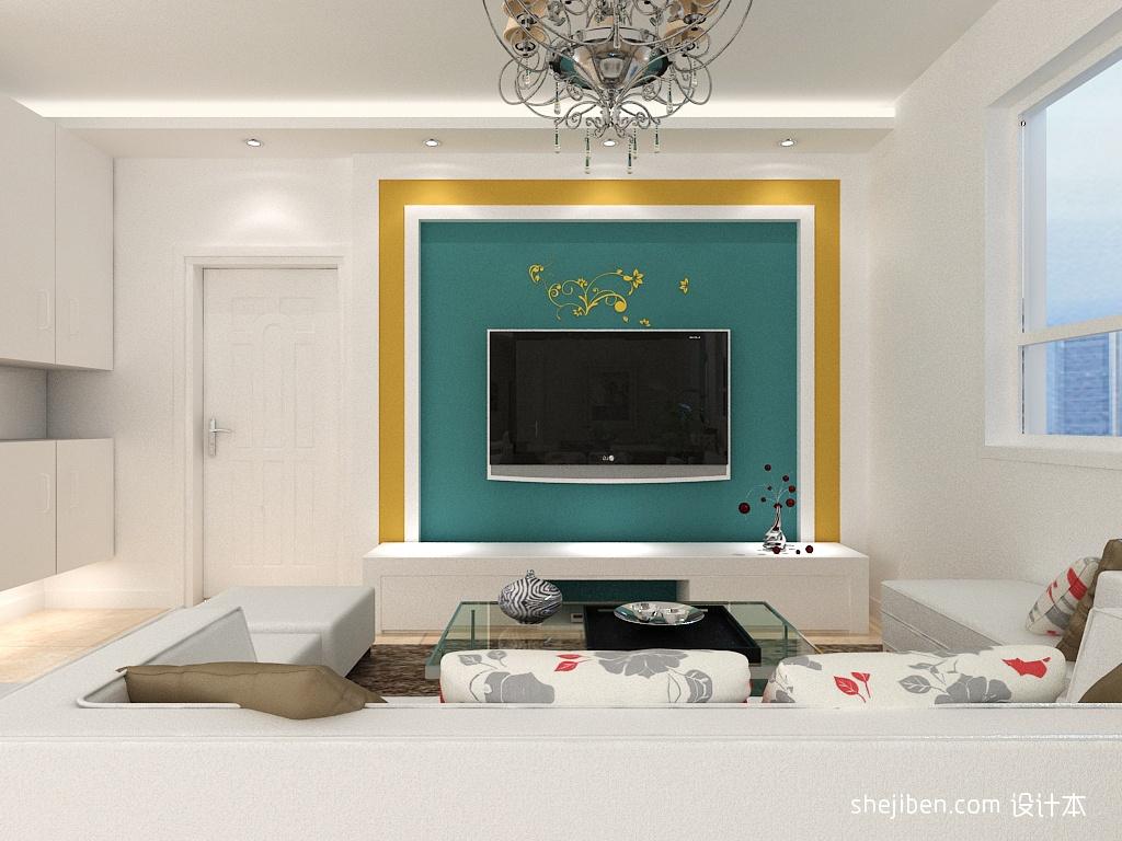 电视背景墙装修效果图大全2013图片小户型 高清图片