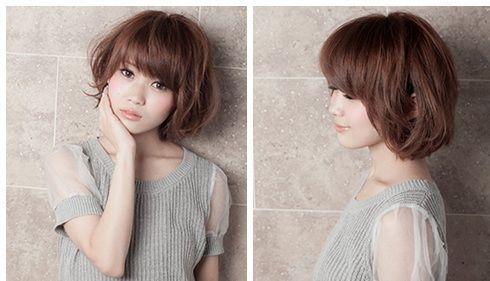 8款夏季短发烫发发型 可爱俏皮风图片