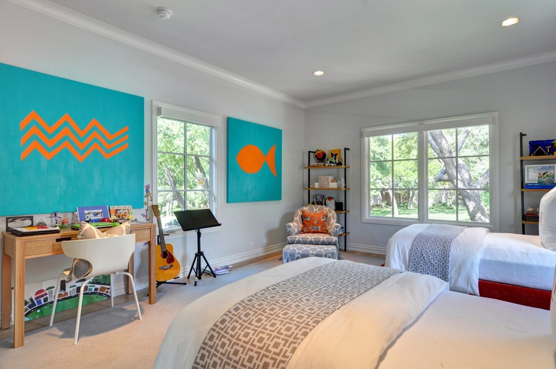 双人房卧室书房装修效果图大全2013图片 高清图片