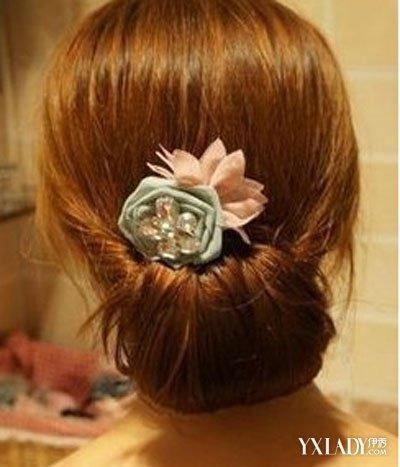 长直发发型扎法六步骤打造气质淑女图片