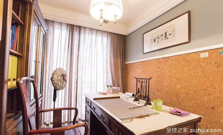 中式书房装修效果图_装修之家装修效果图图片