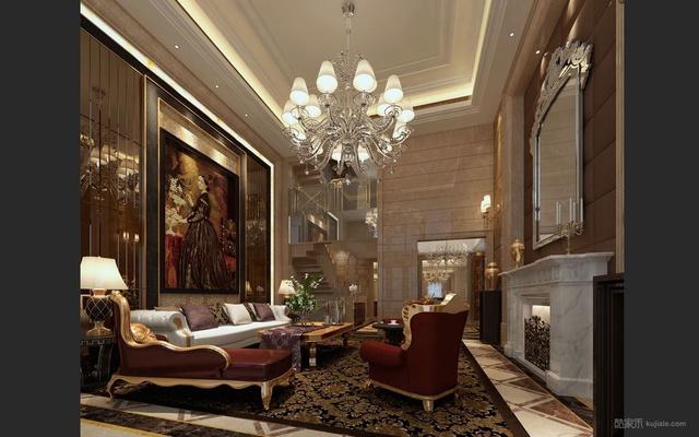 32张欧式客厅装修图片