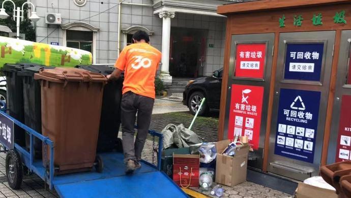 申城居民区、商务楼里垃圾分类到底怎么样?