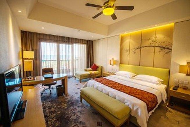 秦皇岛北戴河阿尔卡迪亚滨海度假酒店-园景公寓大床房
