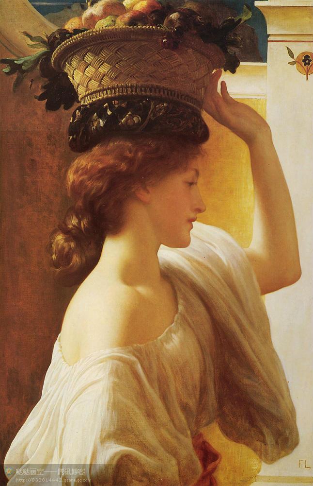 高清赏画――油画中的欧洲古典美女