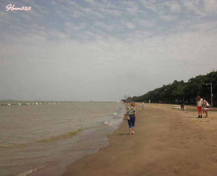 广州南沙天后宫   游记南沙海滩之旅_百度旅游   广州的沙高清图片