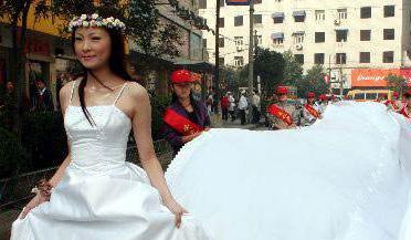 女大学生为省钱用厕纸做婚纱