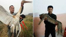 男子炫耀在西藏猎杀野生保护动物引众怒