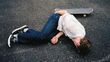 尼玛各种疼啊!玩滑板杯具傻缺视频集锦