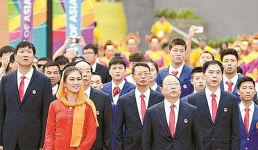 第18届亚运会在雅加达开幕