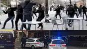 巴萨球迷遭50名蒙面人袭击 持武器暴打
