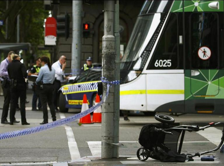 墨尔本冲撞行人事件致3死20伤