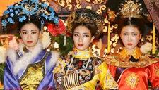 韩国女团身穿娘娘服 心机妆容上演甄嬛传