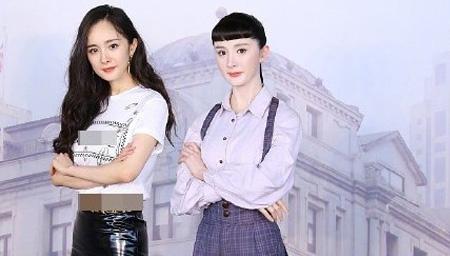 杨幂蜡像被侃锅盖头?!