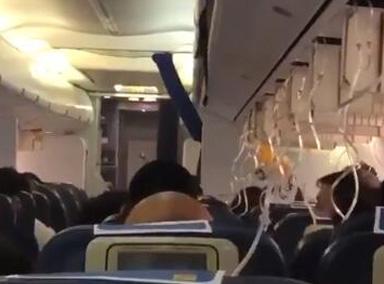 印度一航班起飞后30名乘客耳鼻流血