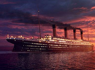 泰坦尼克号残骸开始坍塌