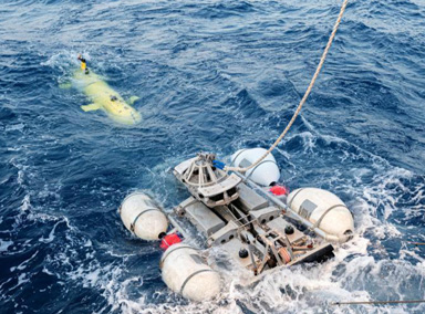 法国找到失踪半世纪的潜艇