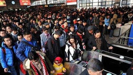 节前春运客流量最高峰自今日开始