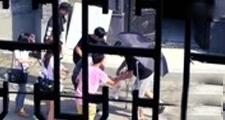 张翰偶遇伤者散落水瓶