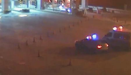 民警半夜晕倒在雪地里