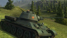 坦克世界t34 m60小规模战斗的走位和目标选取