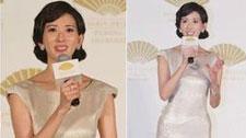 林志玲T台秀旗袍!扒那些穿旗袍美上天的女明星!