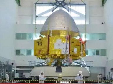 中国火星探测器真容曝光