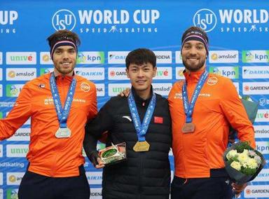 创历史!宁忠岩首夺世界杯1500米金牌