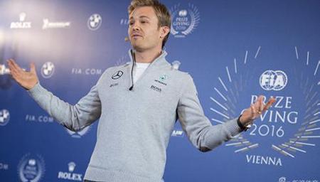 功成身退?新科F1世界冠军罗斯伯格宣布退役