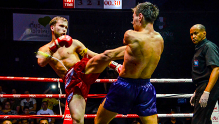泰拳10大精彩KO!一拳一肘一膝威力强悍