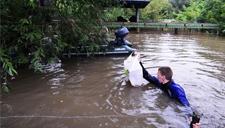 叹息!俄罗斯遭遇洪水 动物园动物淹死在笼中