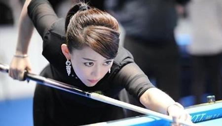 世界九球中国公开赛八强赛 刘莎莎淘汰潘晓婷