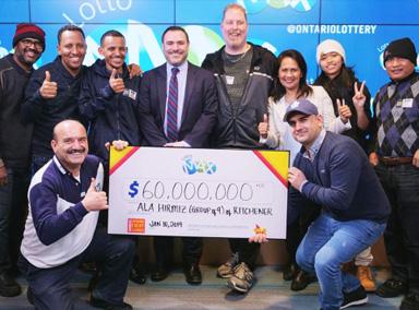 9名同事合买彩票中了3亿!