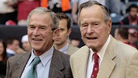 美前总统老布什转入加护病房 目前情况稳定