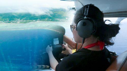 塞班岛自驾飞机,体验冲上云霄前所未有的刺激感