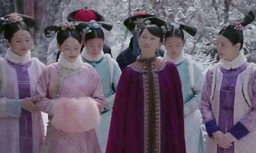 《如懿传》第6集看点:皇上翻牌蕊姬 与青樱谈往事
