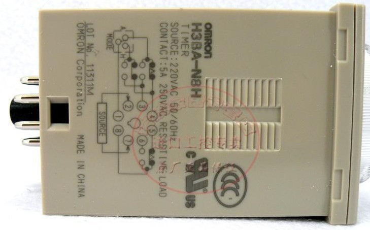 断电保持时间继电器_欧姆龙时间继电器 H3BA-N8H,怎么接,通电延时常开,通电延时常闭 ...