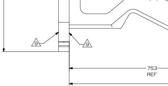 三角形里面一个数字 表示什么意思 机械制图图片