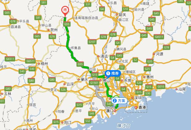 广州怎么去清远金子山