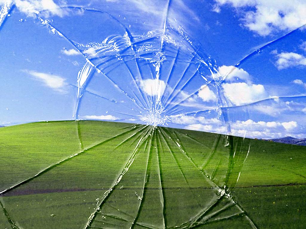 电脑屏幕的壁纸,破碎的感觉图片