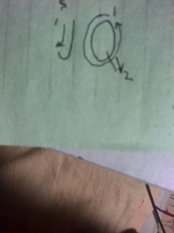 大写字母q纹身图案分享展示图片