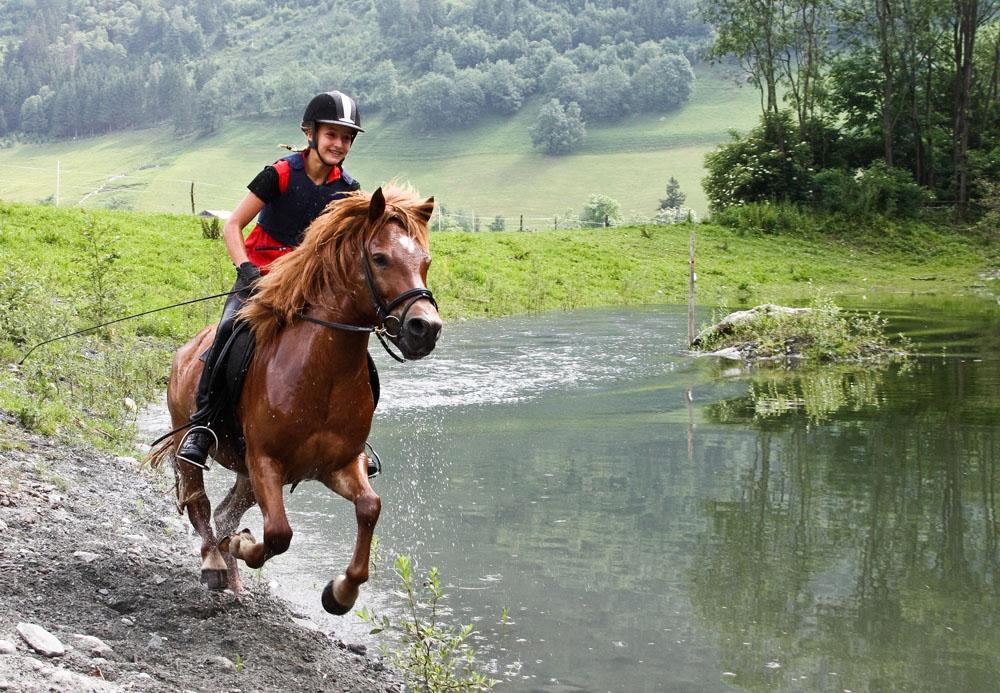 能找张类似人骑马的照片么