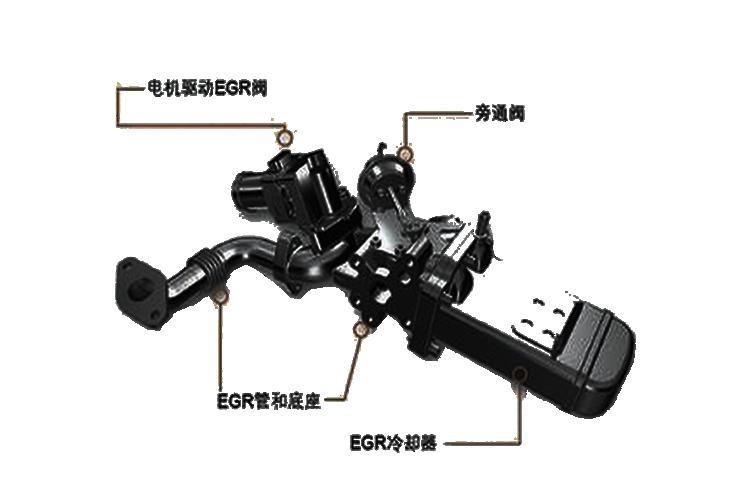 帕萨特b5 egr阀位置传感器的组成及工作原理图片