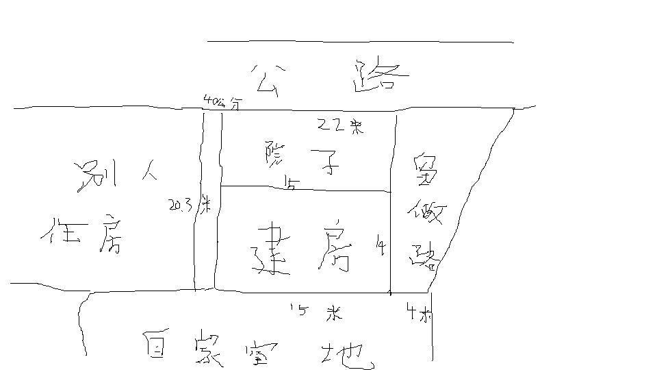 求一房屋设计图 门面15米进深14米 要求两面门面 两层图片