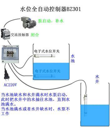 两个就ok了接线方法如下电子式水位开关用电缆浮球开关代图片