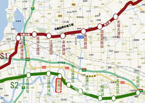从苏州站坐地铁2号线到苏州高新区学府花园幼儿园到哪图片