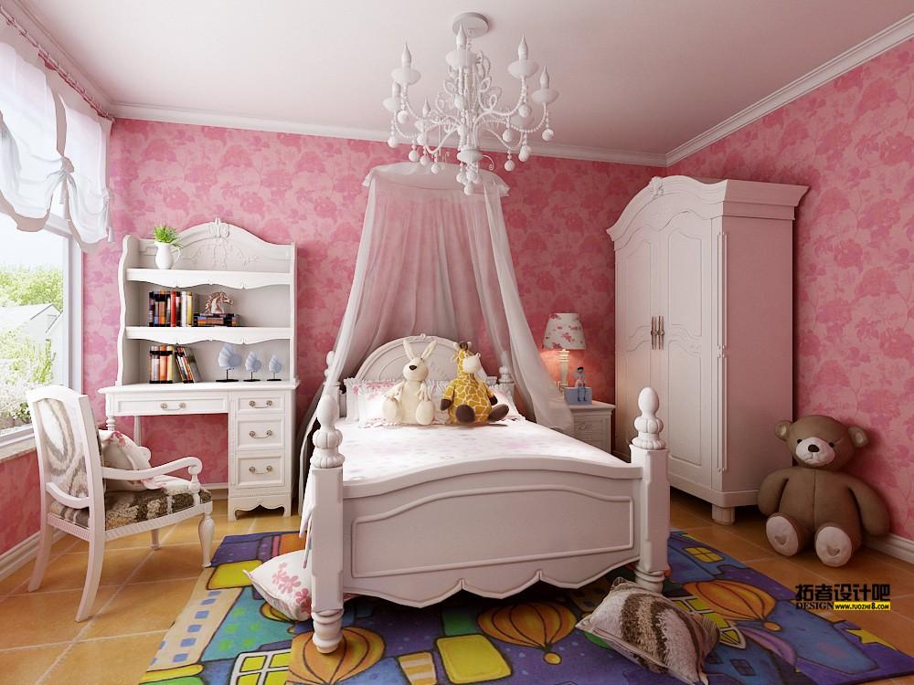 小女孩的卧室该怎么装修!