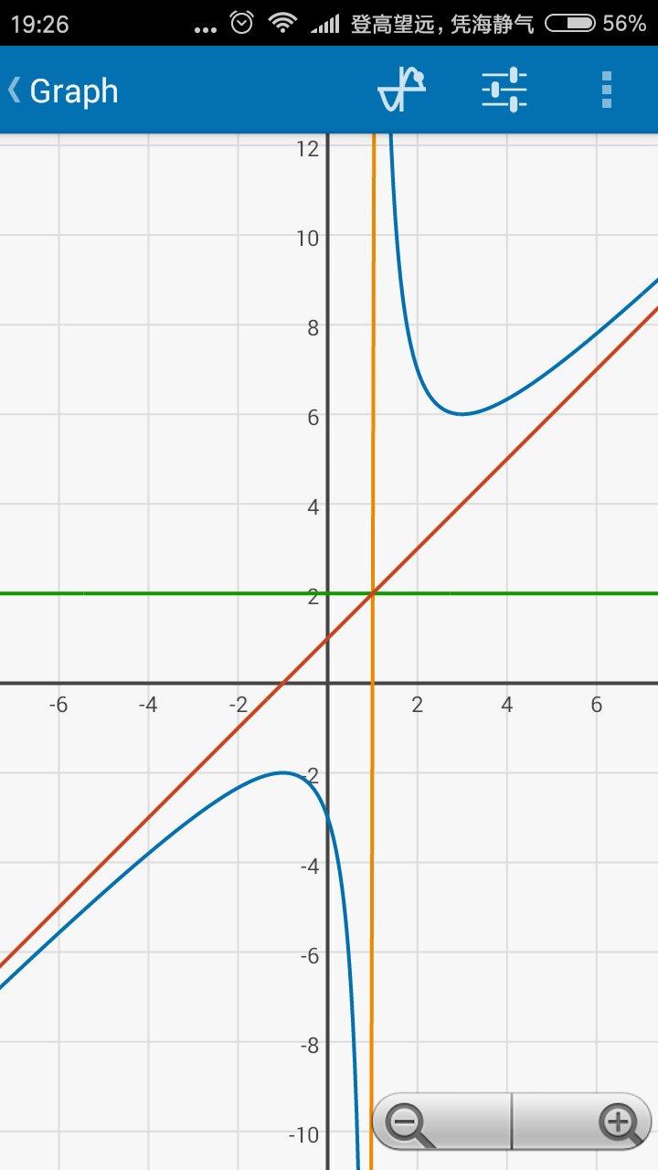 y=x是斜渐近线吗