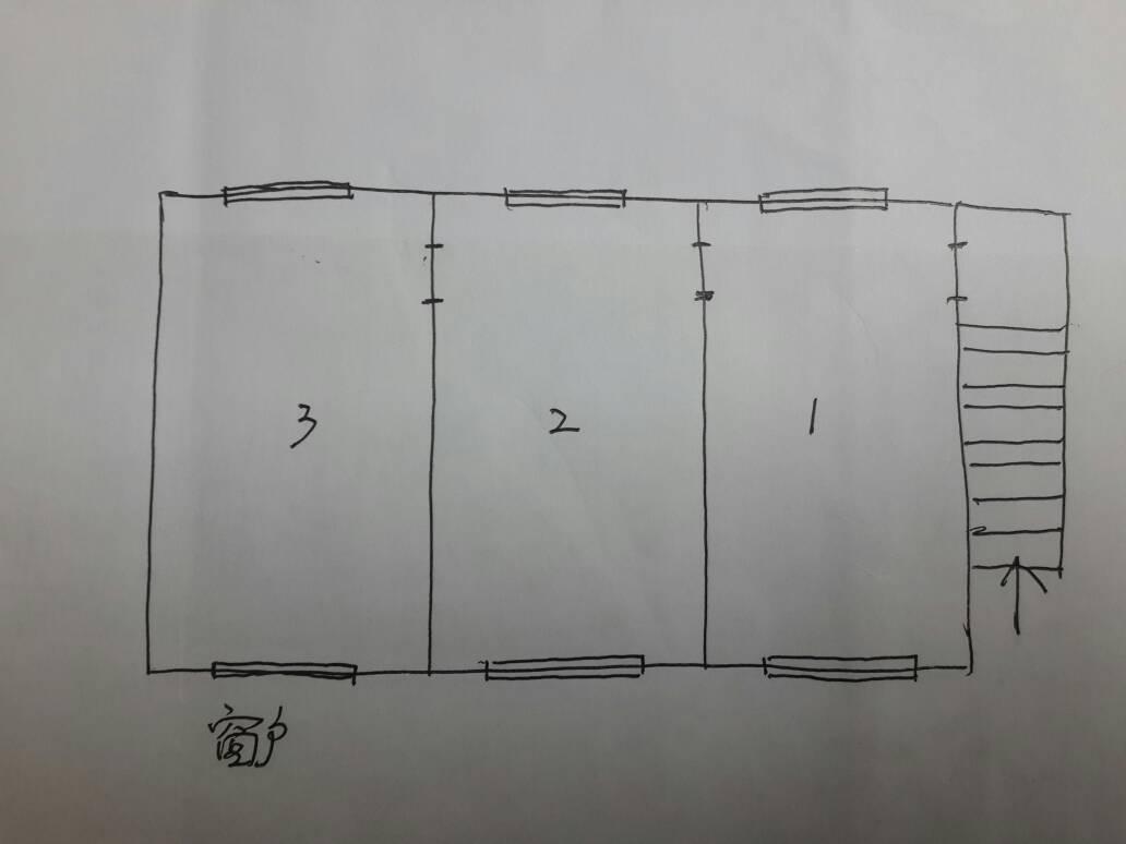我家有一个门面,三间房并排的那种.有两楼.该怎么改装图片
