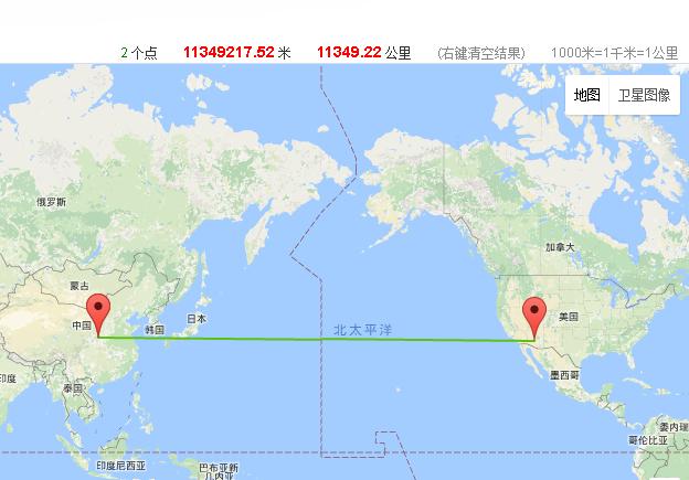 西安到纽约多少公里